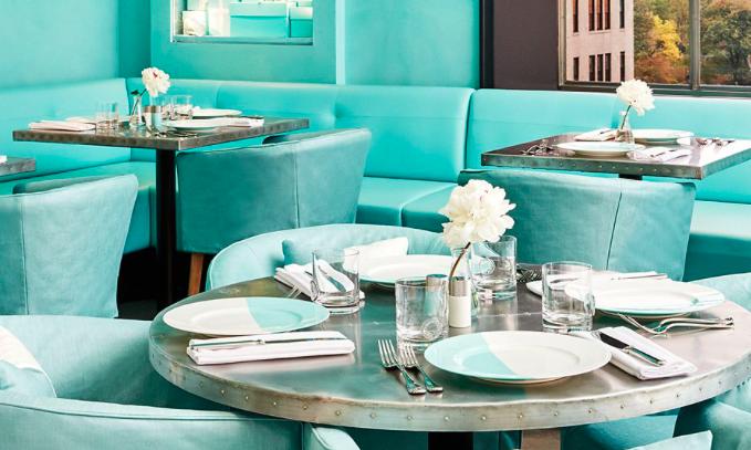 NY ティファニーカフェの予約方法とメニュー、体験レポート